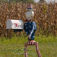 Uncle Sam Mailbox