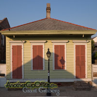 French Quarter Shotgun House