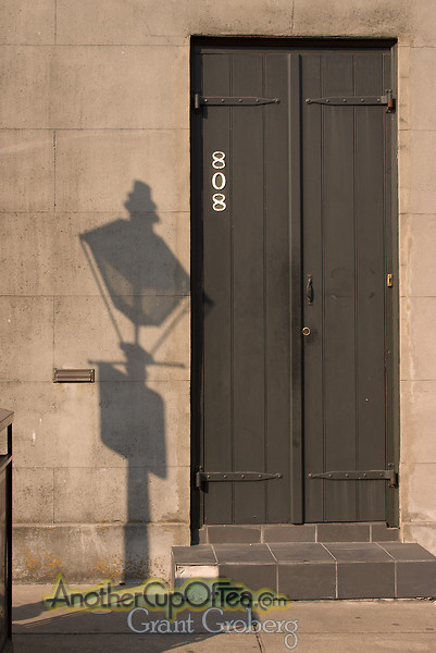 Door and Shadow - French Quarter