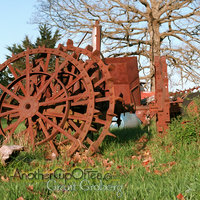 iron tractor wheels