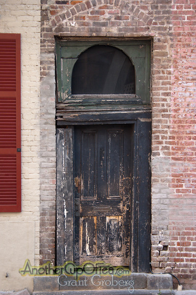 Well Used Door
