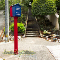 Call Box with Stairs