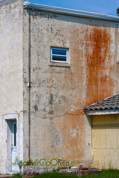 Rust Stained Wall