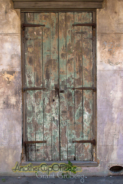 Door with Patina