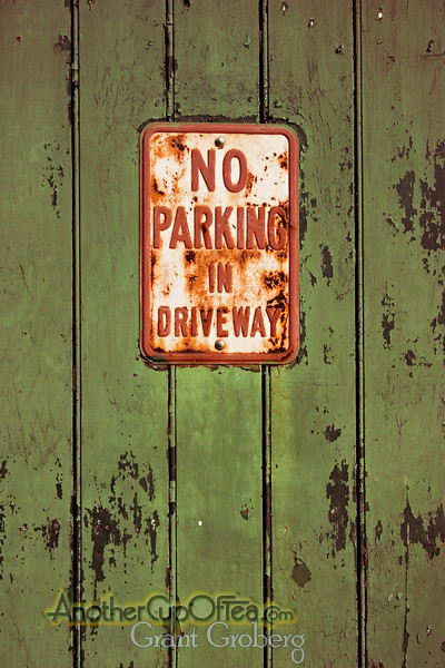 No Parking in the French Quarter