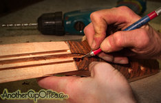 Clearing the Truss Rod Slot