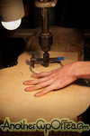 Cutting the Sound Holes